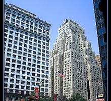 THE NEW YORKER HOTEL BRUSHSTROKES by BOLLA67