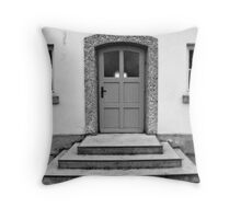 The Door... Throw Pillow
