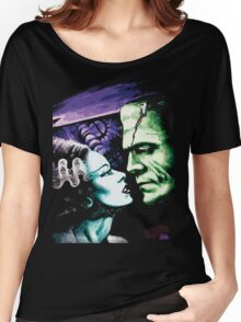 Bride & Frankie Monsters in Love Women's Relaxed Fit T-Shirt