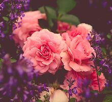 Cottage Garden Roses by Olivia Joy StClaire