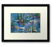 Monet Alley Framed Print
