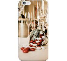 CELEBRATE (STILL LIFE - Wine Glasses - M&M's - Zinc Bucket) iPhone Case/Skin