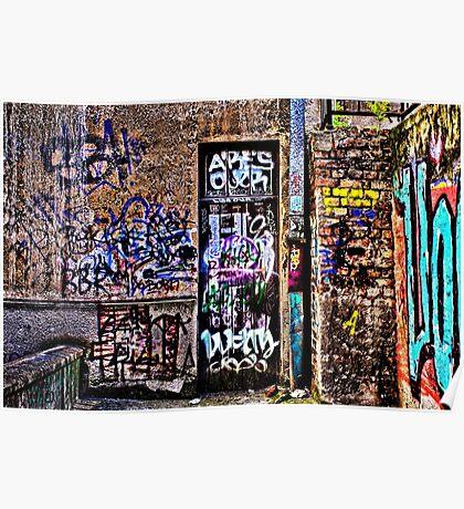 Urban Decay Europe Fine Art Print Poster