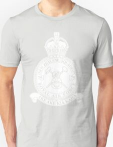 75(NZ) Squadron RAF Crest - Solid White T-Shirt
