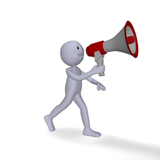 speak to the megaphone by bmg07