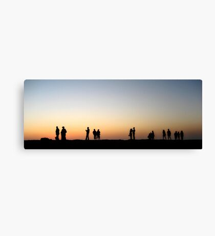 A shared instant Canvas Print