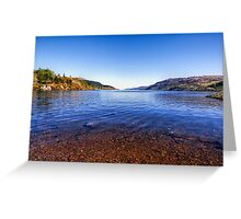 The Shores of Loch Ness Greeting Card