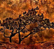Tree Of Sadness Fine Art Print by stockfineart