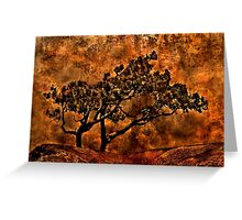 Tree Of Sadness Fine Art Print Greeting Card