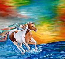 Water Horse- Visit www.rebeccarobinsonart.com for original by robinson1128