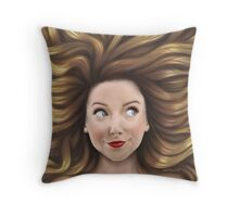Zoella Throw Pillow
