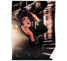 Abandoned Opera Girl Fine Art Print Poster