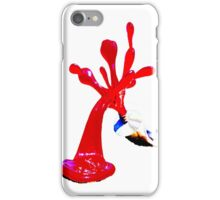 Bondi Sculpture on Blue iPhone Case/Skin