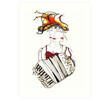 Queen Birta Art Print
