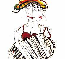 Queen Birta by David Grudniski
