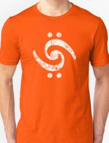 The Bass Bird (White) Unisex T-Shirt