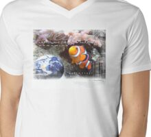 clownfish Mens V-Neck T-Shirt