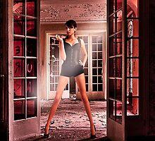 Secret Door Fine Art Print by stockfineart