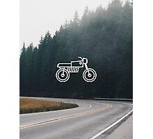 Motorcycle 2 Photographic Print