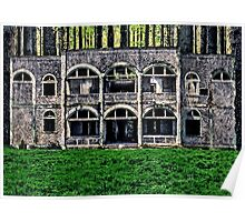 Abandoned Stone House Fine Art Print Poster