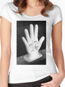 Palmistry Women's Fitted Scoop T-Shirt