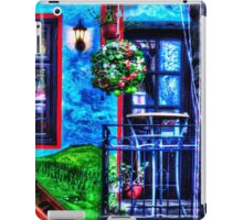 Colored Restaurant Facade Skadarlija Belgrade  iPad Case/Skin