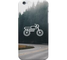Motorcycle 2 iPhone Case/Skin