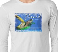 fluid dynamics Long Sleeve T-Shirt