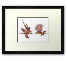 'Samurai' Framed Print