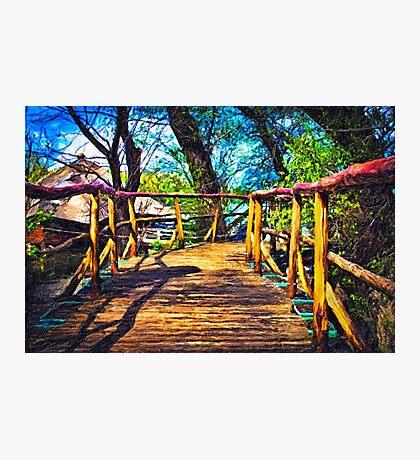 Wooden Bridge Fine Art Print Photographic Print