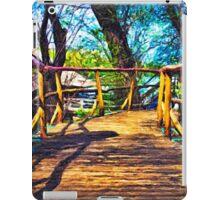 Wooden Bridge Fine Art Print iPad Case/Skin
