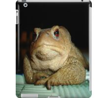 A Common Toad With Philosophical Disposition iPad Case/Skin