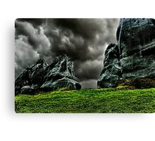 Bellow The Clouds Fine Art Print Canvas Print
