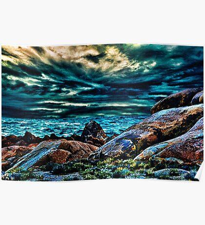 Before Sunset Fine Art Print Poster