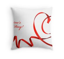 Love card Throw Pillow