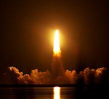 Endeavour Space Launch # 4 by Terra Berlinski
