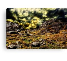 Top Of The Hill Fine Art Print Canvas Print