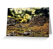 Top Of The Hill Fine Art Print Greeting Card