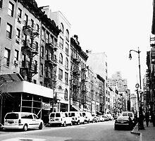 Greenwich Village streetscene by Ravia Khatun