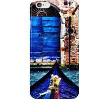 Venice Gondola Fine Art Print iPhone Case/Skin