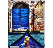 Venice Gondola Fine Art Print iPad Case/Skin