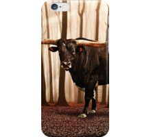 The Lonely Bull Fine Art Print iPhone Case/Skin