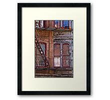 Providence Facade Framed Print