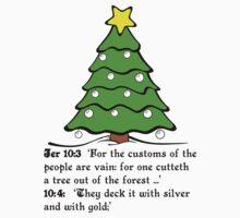 JEREMIAH 10  THE X MASS TREE T-Shirt