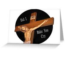 Lenten Season Ash Wednesday Greeting Card Greeting Card