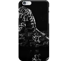 Lonely Giraffe Fine Art Print iPhone Case/Skin