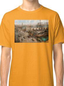 City - NY - South Street Seaport - 1901 Classic T-Shirt