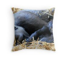 Buu & Mbula Throw Pillow