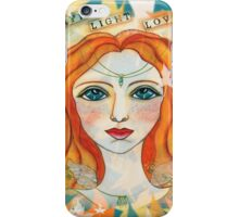 Faith, Light, Love iPhone Case/Skin