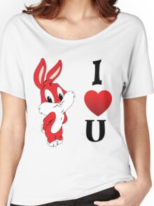 Cartoon T-Shirt Women's Relaxed Fit T-Shirt